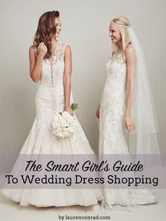 The Smart Girl's Guide to Dress Shopping with Tips from @kleinfeld