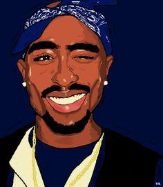 Makaveli by requestig: Britneyrenee__ Arte Do Hip Hop, Hip Hop Art, Dope Cartoons, Dope Cartoon Art, Tupac Wallpaper, Migos Wallpaper, Tupac Art, Trill Art, Rapper Art