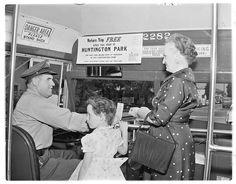 (1955) MCL No. 2282 Interior.  Huntington Park Fare Refund/Promotion.