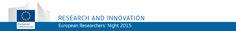 Notte Europea dei Ricercatori. 25 Settembre 2015 - Notte Europea dei Ricercatori. Da 10 anni lo spettacolo della scienza si rinnova, il mondo della ricerca italiano rappresentato con più di 300 eventi http://www.ilsitodelledonne.it/?p=17385