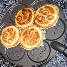 I would like to have the Smiley Face Pancake Pan in my house because it would be fun to make breakfast and each pancake would be personalized