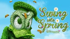 Swing into a #Disney Spring! Color and music blossom throughout #Disneyland Park! Enjoy the all new Disney's #Spring Promenade! Swing into Spring from April 5th to June 22nd 2014!