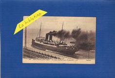 CPA  - BOULOGNE SUR MER (62) - LA MALLE PARTANT POUR FOLKESTONE - 1925