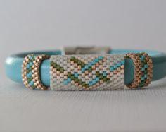 Popular items for delica bead bracelet on Etsy
