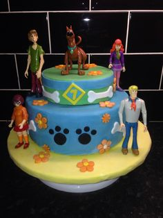 Scooby Doo Cake Cakes and Cupcakes for Kids birthday party