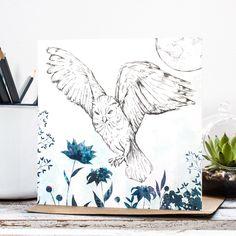 Luna Owl - Jessica Wilde Designs © www.jessicawilde.co.uk