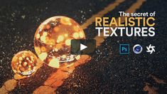 The Secret of Realistic TexturesIn this tutorial, I talk about materials and textures. Ever wondered what is the difference between materials and textures? There's a bit of theory for you too. Cinema 4d Tutorial, 3d Tutorial, Photoshop Tutorial, Adobe Photoshop, Photoshop Effects, Texture Mapping, 3d Texture, Asphalt Texture, 3d Cinema