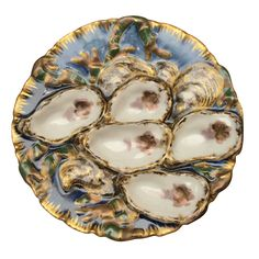 # 19                             Oyster Plate, Hayes