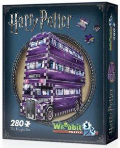 WREBBIT 3D puzzle Harry Potter: Záchranný autobus 280 dílků