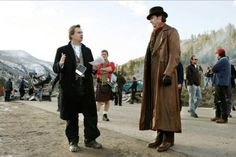 New Pix (BTS - christopher nolan and hugh jackman on set the prestige) has been published on Tremendous Pix Chris Nolan, Christopher Nolan, Colossians 3 23, Streetwear, Hugh Jackman, The Prestige, On Set, Behind The Scenes, My Photos