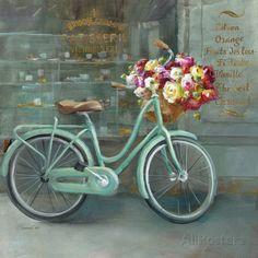 Joy of Paris I Art by Danhui Nai at AllPosters.com