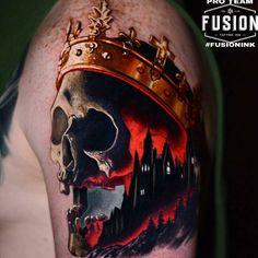 Badass work by Fusion Pro Team Artist @ben_ochoa using #FUSIONINK #fusionfamily #fusiontattooink #tattoos #tattoo #tattooed #artist #bright #tattooartist #tattooink #ink #inkedup #skinartmag #amazingink #tattoolife #supportgoodtattoos #stencilanchored #bold #tattooing #veganink #instatattoo #cleantattoos #inkedmag #tattooart #bodyart #sullen #tattooedpeople #tattoocommunity #tattooconvention