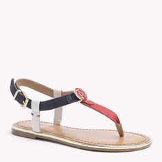 Tommy Hilfiger Julia Sandal - rwb (Red) - Tommy Hilfiger Sandals - main image