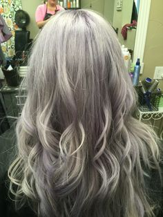 Icy and lavender