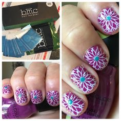 Rainy Day Nail Art from Bundle Monster's Festival Collection