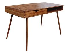 Midcentury-inspired study desk by OrWaDesigns
