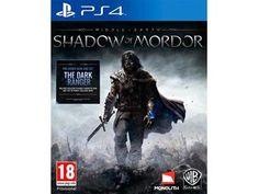 Middle earth: shadow of mordor til PC eller PS4