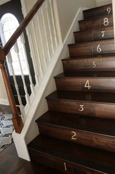Treppe mit palettenholz verkleidet | Aus Paletten | Pinterest ...