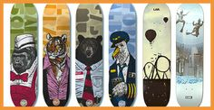 The detail put into the first 4 decks is great, plus its animals in suits, which is awesome.