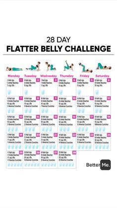 Flatter belly workout Personal Body Type Plan to Make Y. Flatter belly workout Personal Body Type Plan to Make Your Body Slimmer at Phil Heath, Fitness Herausforderungen, Fitness Workouts, Health Fitness, Ab Workouts, Workout Routines, Monthly Workouts, Physical Fitness, Monthly Workout Challenge