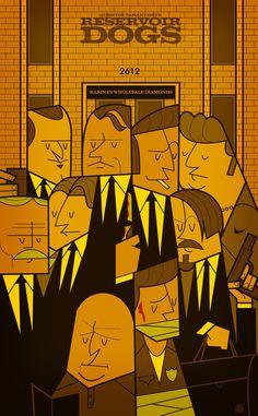 Reservoir Dogs Art Print by Ale Giorgini | Society6
