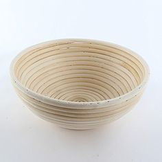 Hot Round Banneton Brotform Bowl Shape Bread Proofing Proving Rising Rattan Baskets >>> ON SALE Check it Out
