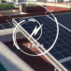 Instalacion de 4 paneles #CanadianSolar de 395w con un micro inversor #Sunnergy, fue la primera vez que utilizamos ese inversor y no hemos tenido ningun problema con el, la estructura es ajustable y muy comoda la instalación. Solar Panels, First Time