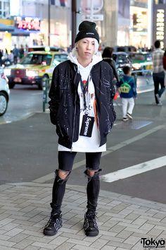 Harajuku Streetwear w/ Reason & Supreme