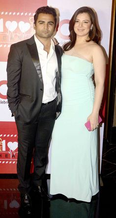 Sachiin Joshi and wife Urvashi Sharma at a special initiative by Celebrity Cricket League, titled '100 Hearts'. #Bollywood #Fashion #Style #Beauty