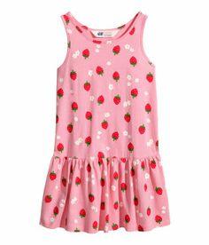 H-M-Kleid-Gemustertes-Kleid-7-Farben-Gr-92-98-104-110-116-122-128 ... f8c0b83d7e