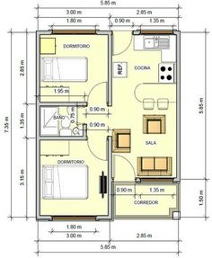 900 Sq Ft Home Lovely Mountain View Floor Plans 2 Bedroom House Plans, My House Plans, Small House Plans, House Floor Plans, The Plan, How To Plan, Apartment Floor Plans, Small Apartment Plans, Apartment Layout