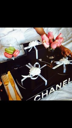 Lap of luxury Chanel tray ON SALE NOW