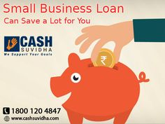 Cash Suvidha - Get Small Business Loan for your business needs. #SmallBusinessLoan #LoanforSMEs #ApplyOnline