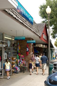 Walk Pier Village on St. Simons Island and explore the many restaurants and shops.  www.GoldenIsles.com