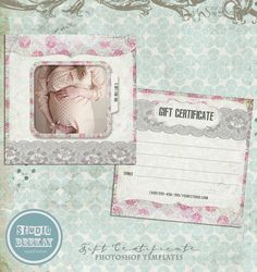 Gift certificate template for photographers photography gift photography gift certificate template vol 3 by studiobeekay 800 pronofoot35fo Images