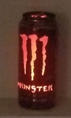 Monster Energy Can Light : 7 Steps (with Pictures) - Instructables Monster Energy Girls, Love Monster, Monster Energy Drinks, Bebidas Energéticas Monster, Look Wallpaper, Monster Crafts, Indie Room Decor, Idee Diy, Can Lights