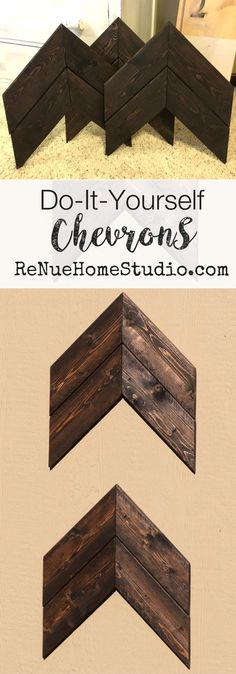 DIY Do It Yourself Wood Chevron Tutorials. We give you a complete Supply List, Tips, Tricks and Videos. Whether you're making them for yourself, a friend or for your business, we'll teach you time saving tips no one else will.