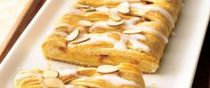 Almonds and apricots find the perfect pairing in this luscious cake with an easy braided top.