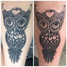 Tattoo Owl Eule