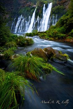 McArthur-Burney Falls State Park is the 2nd oldest state park in California.