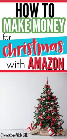 Do you want to make some side cash for Christmas? Did you know you could make money with Amazon and continue after Christmas? #makemoneyforchristmas #christmassavingsplan #christmasmoneysavingplan #sidehustleideas #sidehustletips #sidehustleschristmas #christmassidehustles #makemoneyonline #makemoneyonlinefast #sahmworkideas Work From Home Moms, Make Money From Home, Make Money Online, How To Make Money, Working Mom Tips, Working Mother, Lots Of Money, Extra Money, Christmas Savings Plan