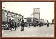 Labor Day Parade , Dillon, Mt. 1934   OMG that's the year I was born