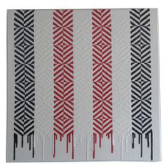 Peata Larkin Loose Ends (Whati on mesh on canvas 756 x 756 mm You can buy this from WCG Jane Gray, Maori Designs, Maori Art, Loose Ends, Geometric Art, Wine Country, Fiber Art, Feather, Contemporary