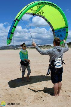#kitesurfing course in #Tarifa
