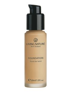Natural Foundation - Pure Sand | Mineral Makeup | NZ | Living Nature