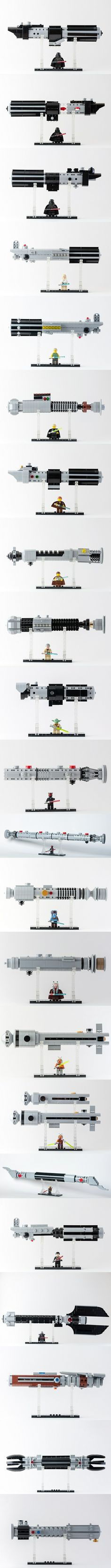 LEGO Star Wars Lightsabers