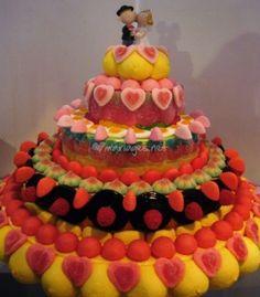 Différents modèles gâteau de mariage de L'Atelier du Bonbon | Photos