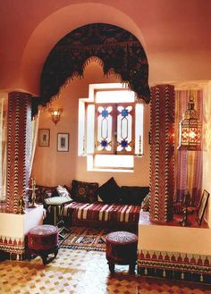 Traditional Moroccan Style Living Room Design Ideas