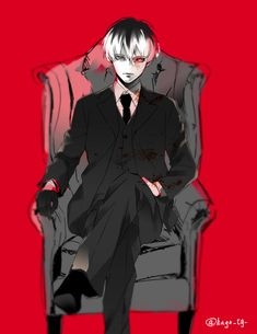 tokyo ghoul: more like conspicuous chair sitting