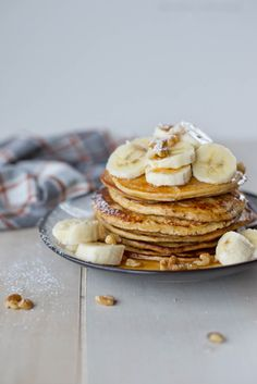 Fluffy on the inside buttery crisp on the outside. These five ingredient blender protein pancakes will become your new go-to in a pinch.
